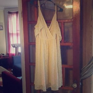 Vintage white Torrid dress size 2